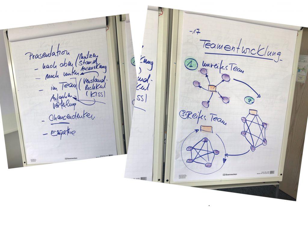Projektmanagement Basis Seminar Fotoprotokoll Teamentwicklung