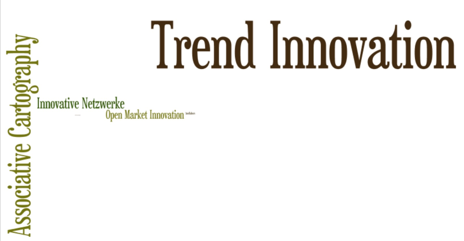 Tag Cloud 5 - Trend Innovation